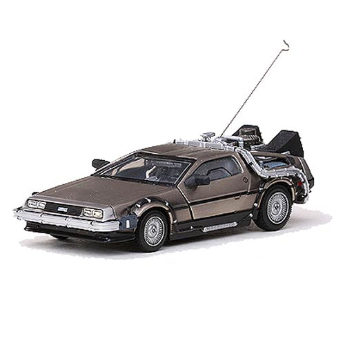 Back to the Future DeLorean 1:43 Die-Cast Metal Vehicle
