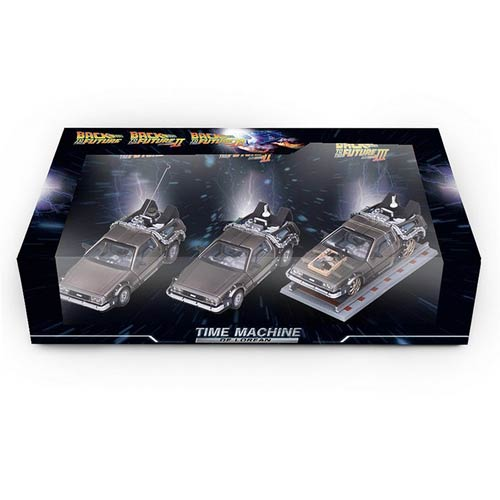 Back to the Future DeLorean 1:43 Die-Cast Vehicle 3-Pack