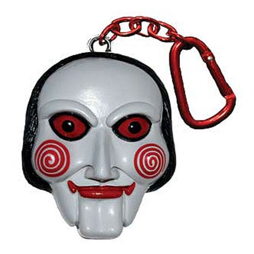 Saw Billy the Jigsaw Puppet Talking Key Chain
