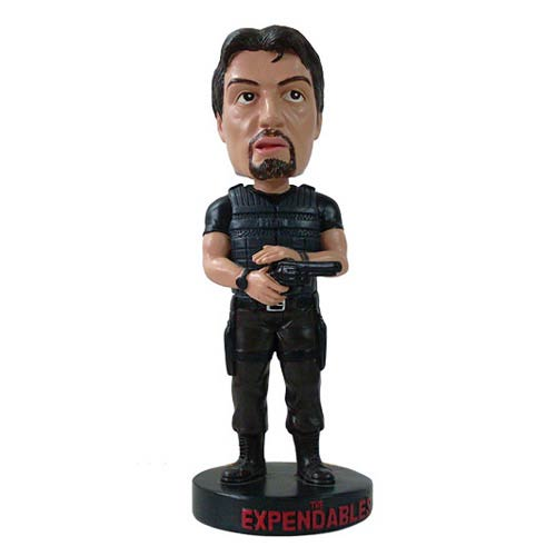 The Expendables Barney Ross Bobble Head