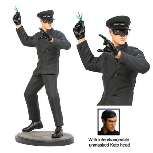 Green Hornet Bruce Lee as Kato 12-Inch Statue