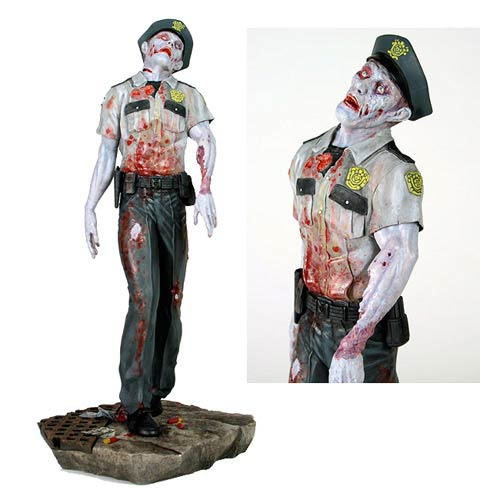 Resident Evil Raccoon City Zombie Cop 1:6 Scale Statue