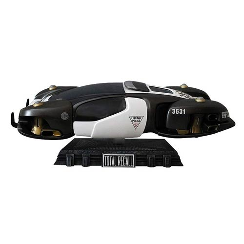 Total Recall Flying Police Car Vehicle Replica Statue