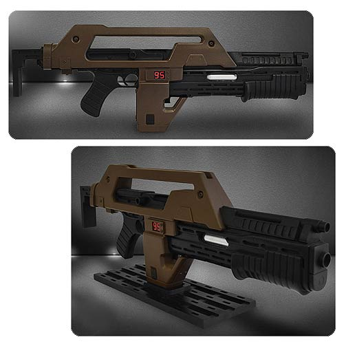 Aliens M41A1 Pulse Rifle Brown Bess Prop Replica