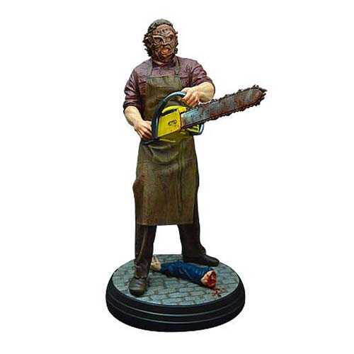 Texas Chainsaw 3D Leatherface 1:4 Scale Statue