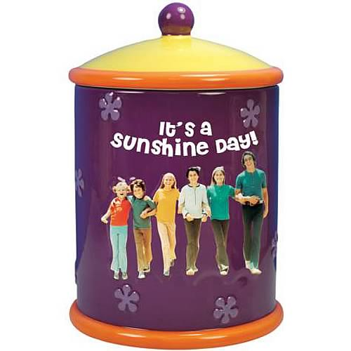 Brady Bunch Sunshine Day Cookie Jar