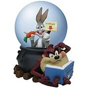 Looney Tunes Bugs Bunny and Taz Water Globe