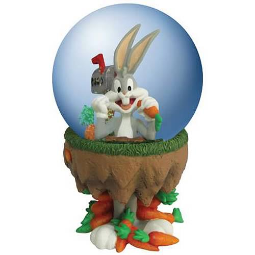 Looney Tunes Bugs Bunny Carrots Water Globe