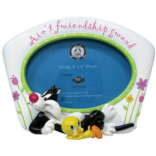 Looney Tunes Sylvester and Tweety Picture Frame