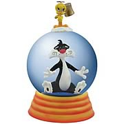 Looney Tunes Sylvester and Tweety Seeing Stars Water Globe