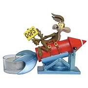 Looney Tunes Wile E. Coyote Oops Tealight Holder