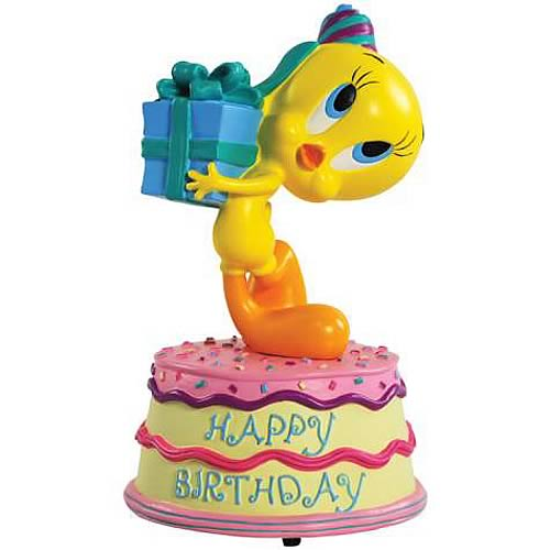 Looney Tunes Tweety Happy Birthday Musical Statue