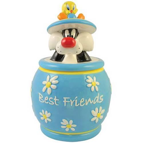 Looney Tunes Sylvester and Tweety Best Friends Cookie Jar
