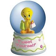 Looney Tunes Tweety Tweet Yourself Water Globe