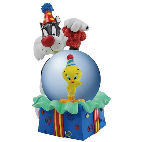 Looney Tunes Sylvester Birthday Surprise Water Globe