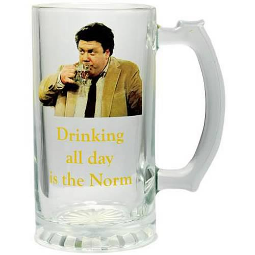 Cheers Drinking All Day is the Norm Glass Stein