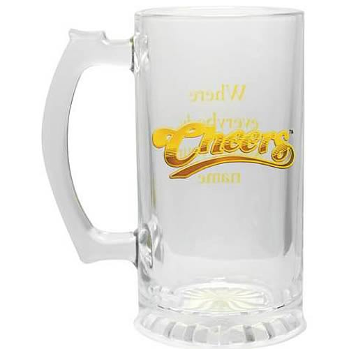 Cheers Everybody Knows Your Name Glass Stein