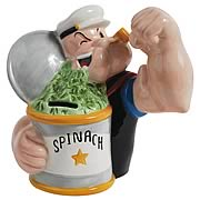 Popeye and Spinach Bank