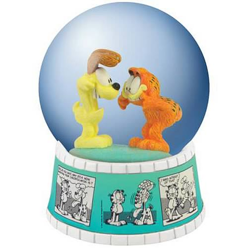 Garfield Comic Strip Water Globe