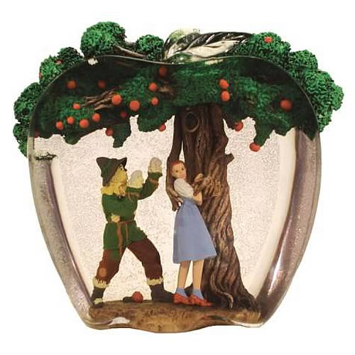 Wizard of Oz Dorothy and Scarecrow Apple Tree Statue