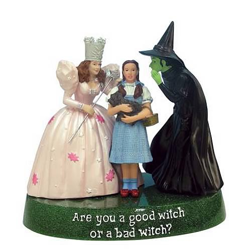 Wizard of Oz Good Witch or Bad Witch Statue