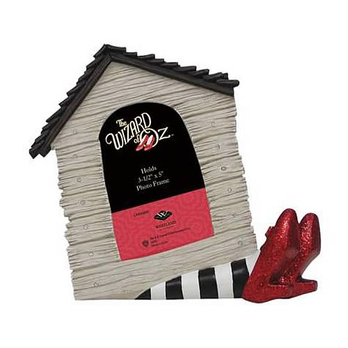 Wizard of Oz Wicked Witch Legs Under House Picture Frame