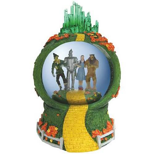 Wizard of Oz Follow the Yellow Brick Road Water Globe