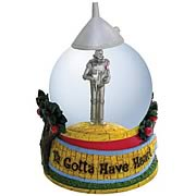 Wizard of Oz Tin Man Gotta Have Heart Water Globe