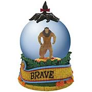 Wizard of Oz Cowardly Lion Brave Water Globe