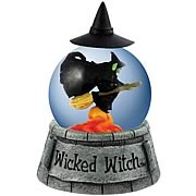 Wizard of Oz Wicked Witch of the West Water Globe