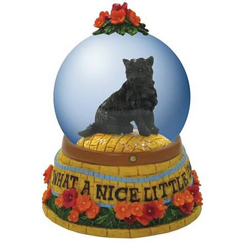Wizard of the Oz Toto Nice Little Dog Water Globe
