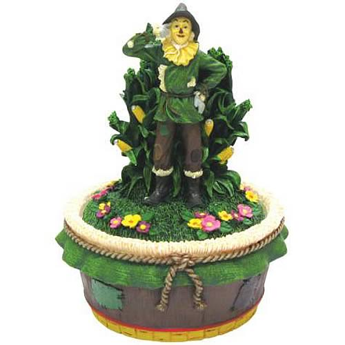 Wizard of Oz Scarecrow Trinket Box