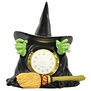 Wizard of Oz Wicked Witch of the West Melting Mini Clock