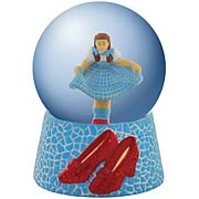 Wizard of Oz Dorothy Ruby Slippers Water Globe