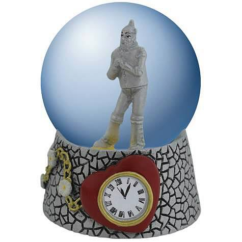 Wizard of Oz Tin Man Heart Water Globe