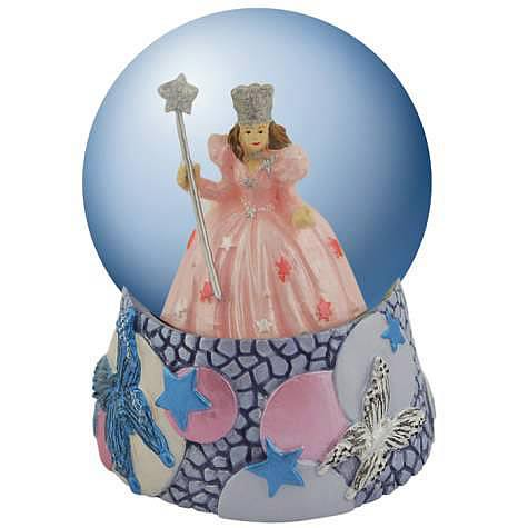 Wizard of Oz Glinda Butterflies Water Globe