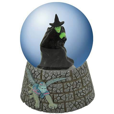Wizard of Oz Wicked Witch of West Flying Monkey Water Globe