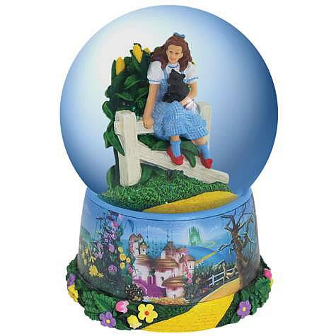 Wizard of Oz Dorothy Musical Water Globe