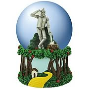 Wizard of Oz Tin Man Musical Water Globe