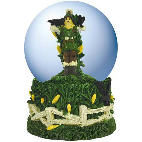 Wizard of Oz Scarecrow Musical Water Globe