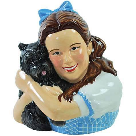 Wizard of Oz Dorothy and Toto Ceramic Bank