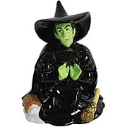 Wizard of Oz Melting Wicked Witch of the West Cookie Jar