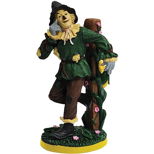Wizard of Oz Scarecrow Corn Statue