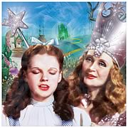 Wizard of Oz Dorothy and Glinda Canvas Art