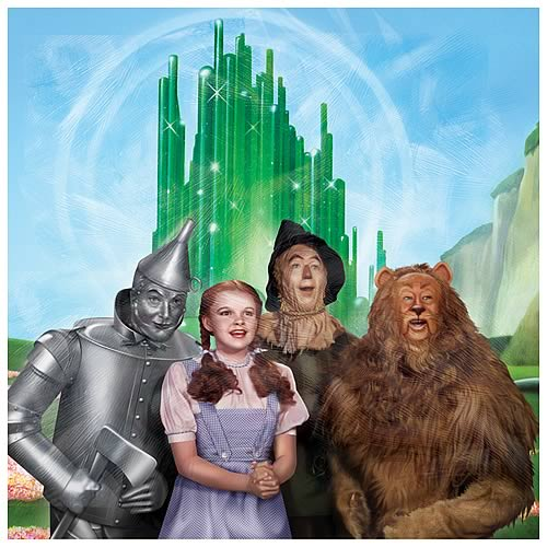 Wizard of Oz Four Friends Canvas Art
