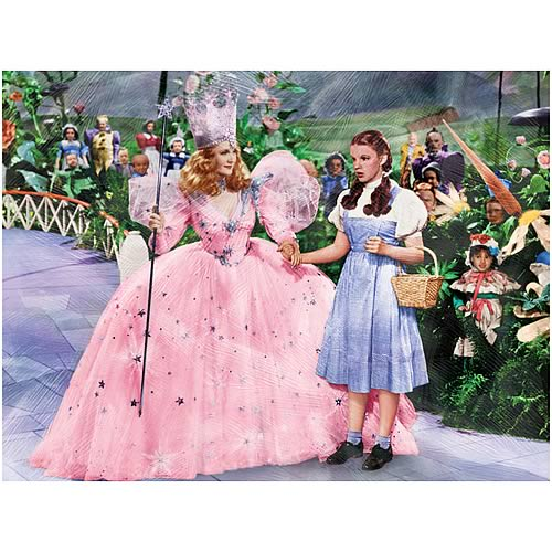 Wizard of Oz Munchkinland Canvas Print