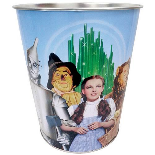 Wizard of Oz Four Friends Waste Basket
