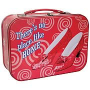Wizard of Oz Ruby Slippers Tin Tote