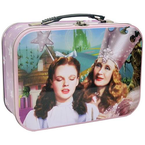 Wizard of Oz Dorothy and Glinda Tin Tote