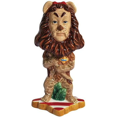 Wizard of Oz Cowardly Lion Mini Bobble Head
